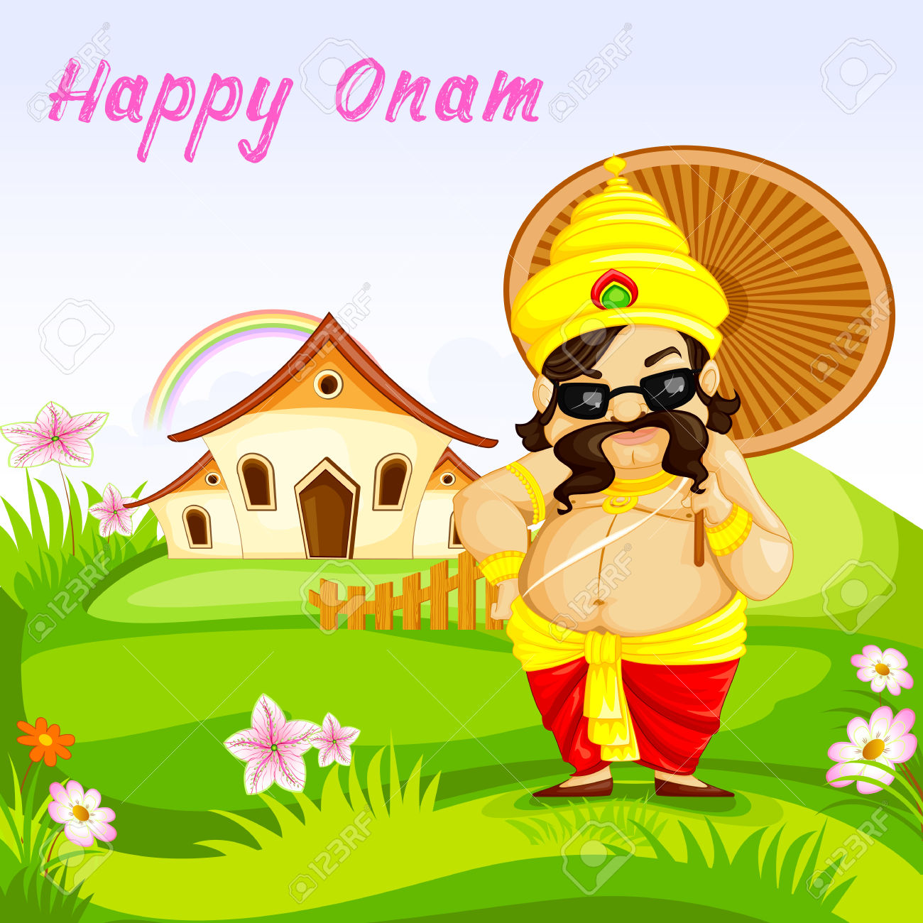 Happy Onam Greetings Happy Onam Images Onam Glitter Onam