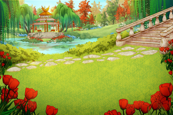 animated sceneries Greetings