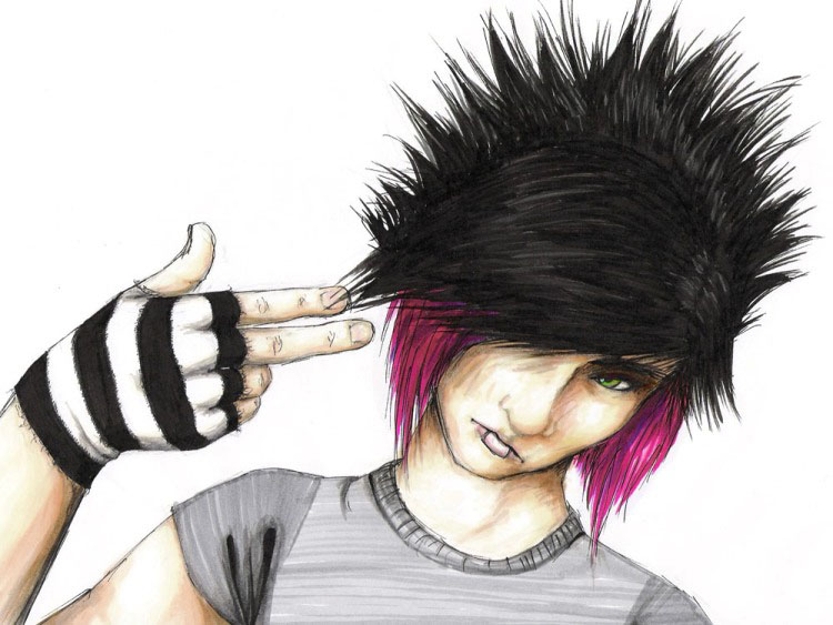 Emo Girls and Boys profile pictures