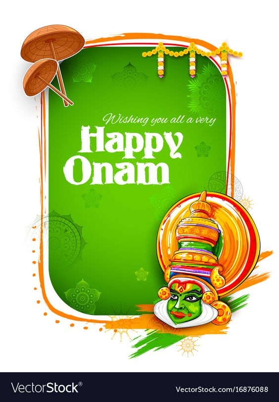 happy onam dp