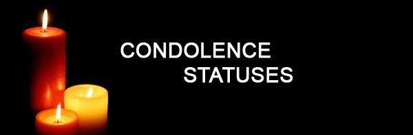 condolence status